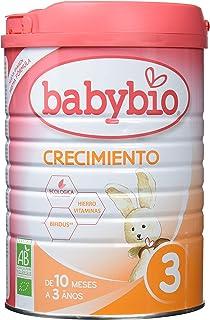Leche Ecológica de crecimiento (12 meses a 3 años) , BABYBIO (900gr)