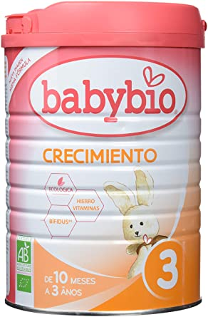 Leche Ecológica de crecimiento (10 meses a 3 años) , BABYBIO ...