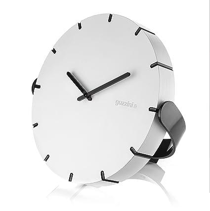 Guzzini Home Orologio M Ove Your Time 25 x H 3 cm, Bianco: Amazon.it ...