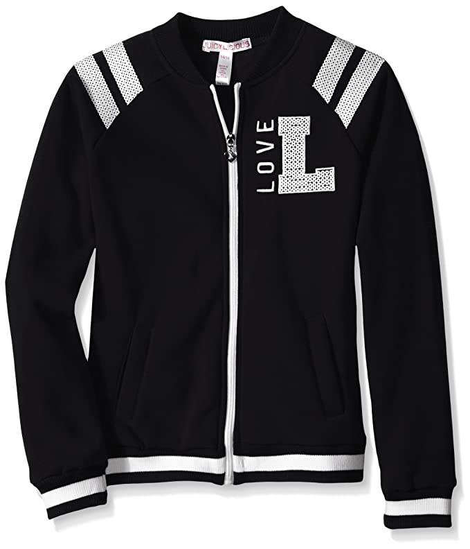 Little Girls' Fleece Baseball Jacket