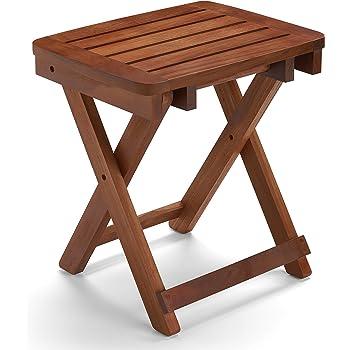 Amazon.com: Conair Home Folding Teak Shower Seat: Beauty