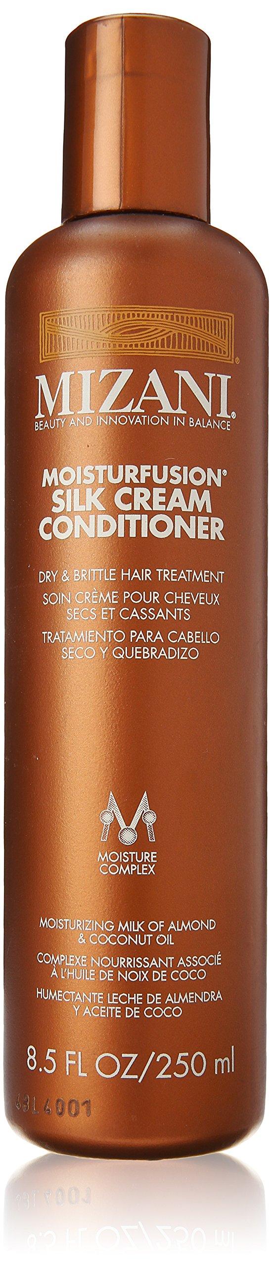 Mizani Moisturfusion Silk Cream Conditioner for Unisex, 8.5 Ounce