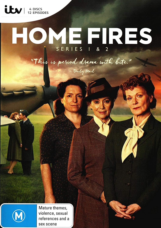 Homes Fires Series 1 & 2 | 4 Discs | NON-USA Format | PAL | Region 4 Import - Australia