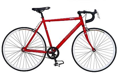 Amazon com : Schwinn Exit Freewheel Single Speed Road Bike