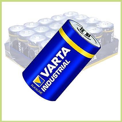Sparangebot 40 Stück Varta Industrial Baby C Lr14 Elektronik