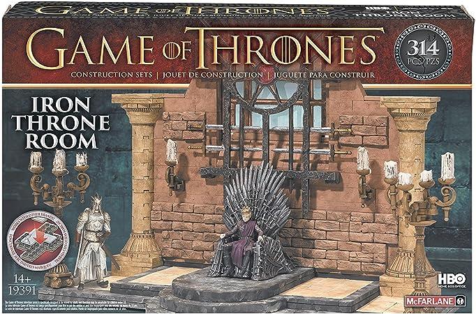 Game of Thrones MC Farlane - Figurine Building Set Iron Thrones ...
