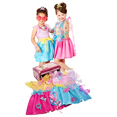 Fancy Nancy Ultimate Dress-Up Trunk, 13-Pieces, Fits Sizes 4-6X [ Exclusive]: Toys & Games
