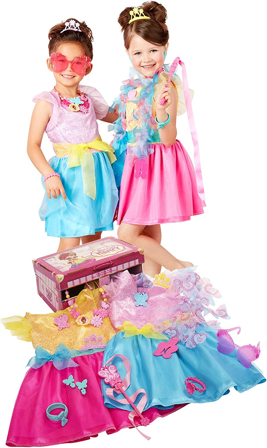 Fancy Nancy Dress Up Trunk Multicolor Amazon Ca Toys Games
