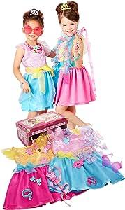 Fancy Nancy Ultimate Dress-Up Trunk, 13-Pieces, Fits Sizes 4-6X [Amazon Exclusive]