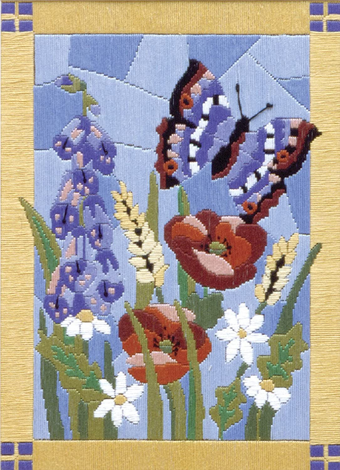 Anchor LS Stained Glass Butterfly, Assorted AL77516