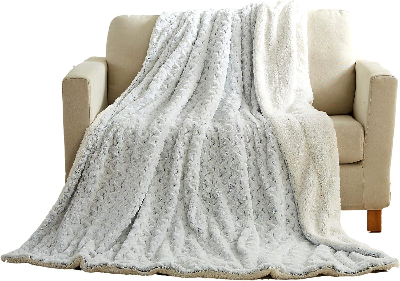 Tache Faux Fur Blankets (Snowy Owl, 50x60)