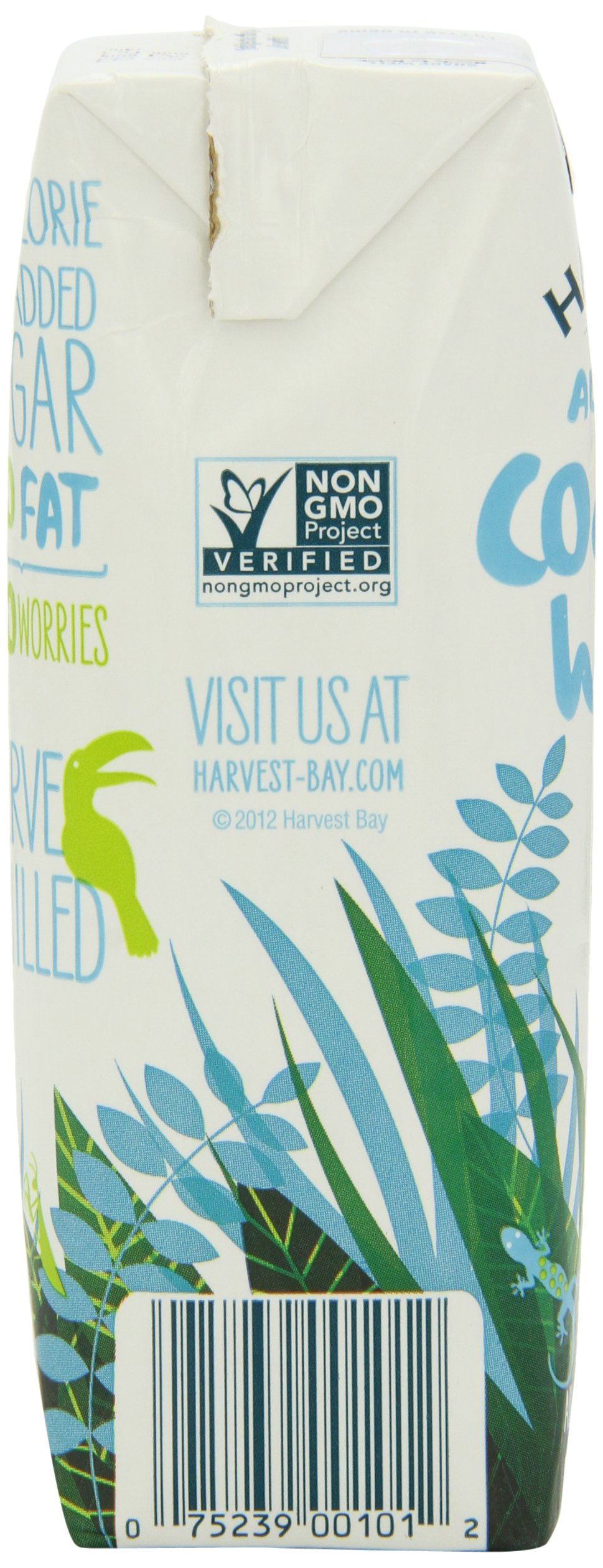 Harvest Bay – All Natural No Added Sugar Coconut Water - 8.45 Ounce (Pack of 12) by Harvest Bay (Image #5)