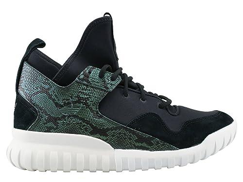 Adidas - Adidas Tubular X Scarpe Sportive Uomo Nere Verdi S31988 - Nero, 40