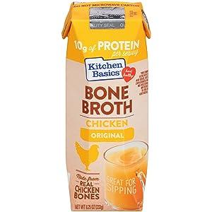 Kitchen Basics Original Chicken Bone Broth, 8.25 fl oz (Pack of 12)