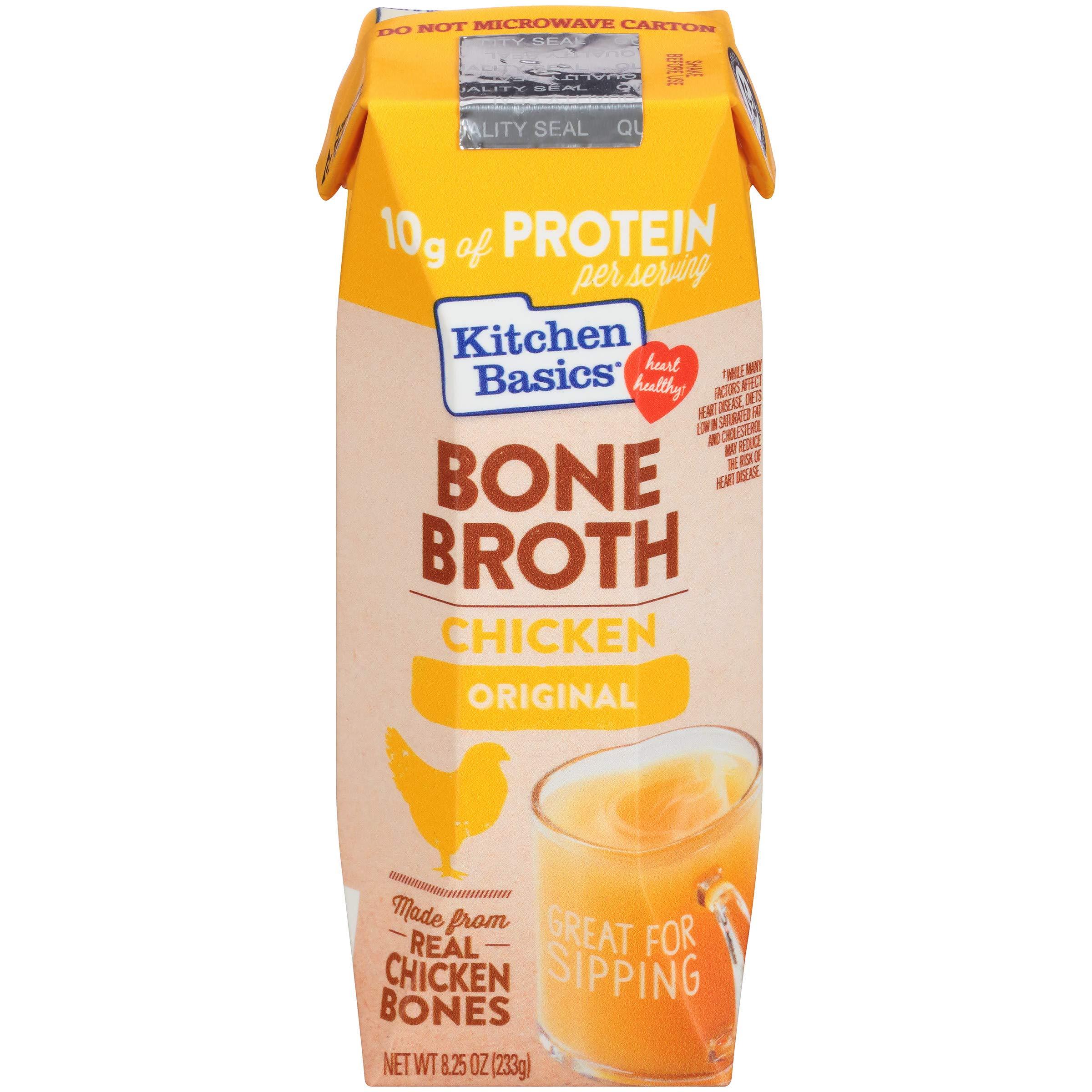 Kitchen Basics Original Chicken Bone Broth, 8.25 fl oz