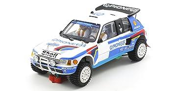 Scaleauto SC-6106 Peugeot 205 T16 Grand Raid Paris Dakar 1989 n.205 &