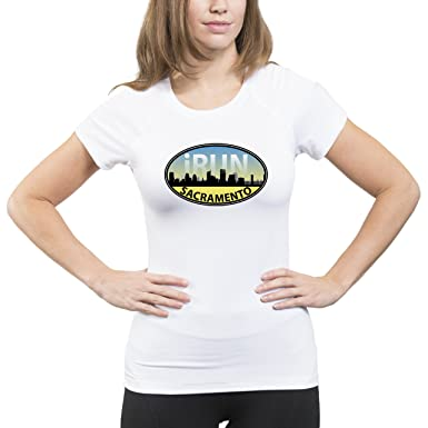 Amazon.com: Split Time Womens Sacramento iRun Short Sleeve ...