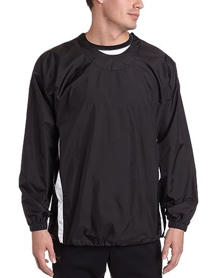 Easton Adult Long Sleeve Enforcer Jacket, Black, Medium