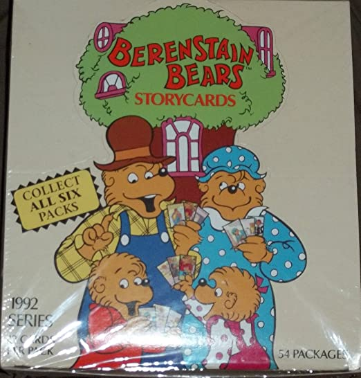 1992 Complete Set 6 Packs Berenstain Bears Storycards NEW Sealed Story Cards