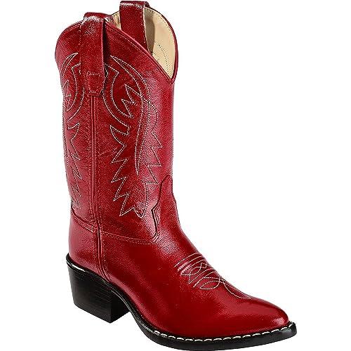 Red Cowboy Boots: Amazon.com