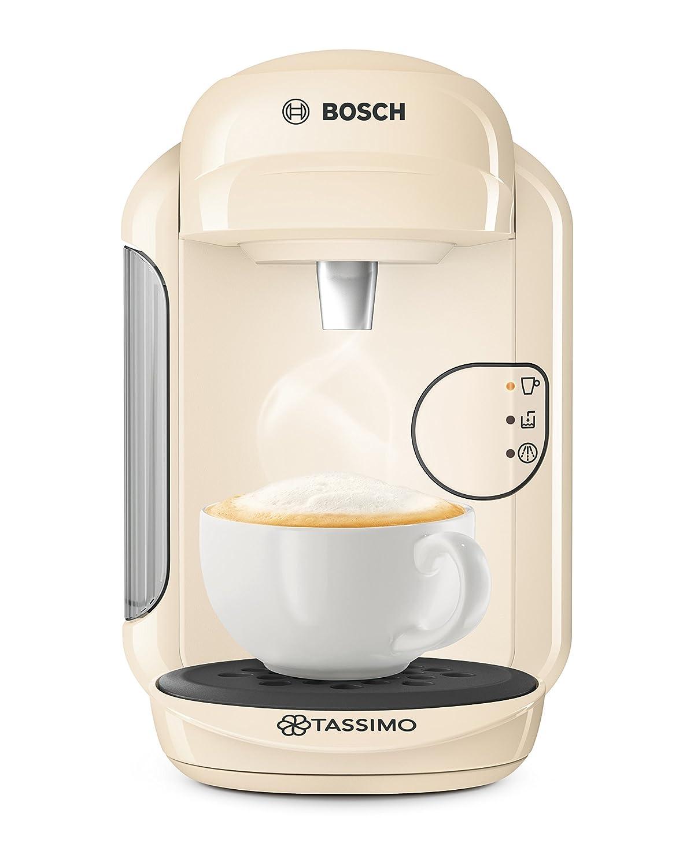 Bosch Tassimo Vivy 2 TAS1407GB Coffee Machine, 1300 Watt, 0.7 Litre - Cream, (Certified Refurbished)