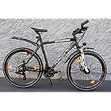 26Inch Wheel Mountain Bike / Cross Bike / Racing Design SHIMANO 21Speed - Meets German Road Traffic Regulations (Suitability for UK Road Use Not Guaranteed)
