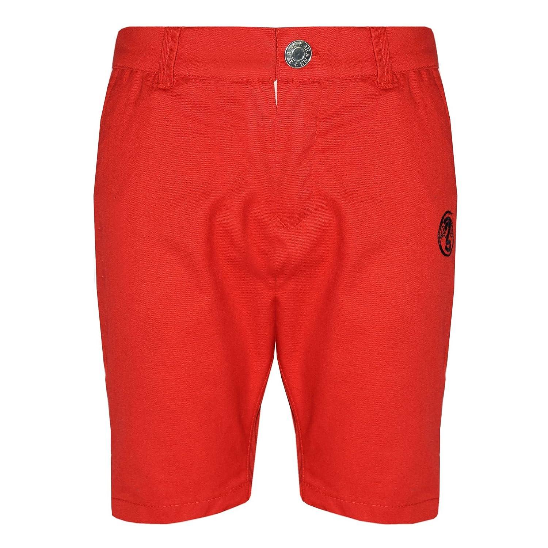 Boys Shorts Kids Red Chino Shorts Summer Knee Length Half Pant Age 2-13 Year
