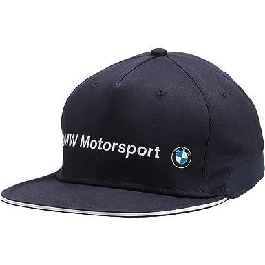 49f9b996bc5 Puma BMW Motorsport Flatbrim Hat (S M) at Amazon Men s Clothing store