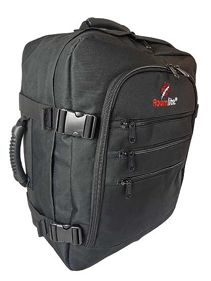 Bagage De Cabine Max Taille Bagage Main Sac À Dos 50 40 20 sac RL42 - Noir vBPPhfk