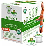SOLLO K-Cup Keurig 2.0 Compatible COFFEE Pods, Weight Loss Control, Suppresses Appetite, Slimming COFFEE, Strong Antioxidant, Organic by USDA, GCBE, Garcinia Cambogia Herbal Extracts, 24 Count