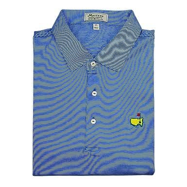 e6c8fd86 PETER MILLAR Masters Jersey Augusta Pine Golf Shirt - Blue -: Amazon.co.uk:  Clothing