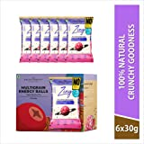 The Bread Company Energy Balls Box - Triple Berries Pie   6 Packets x 40 GMS (4 Balls per Packet)