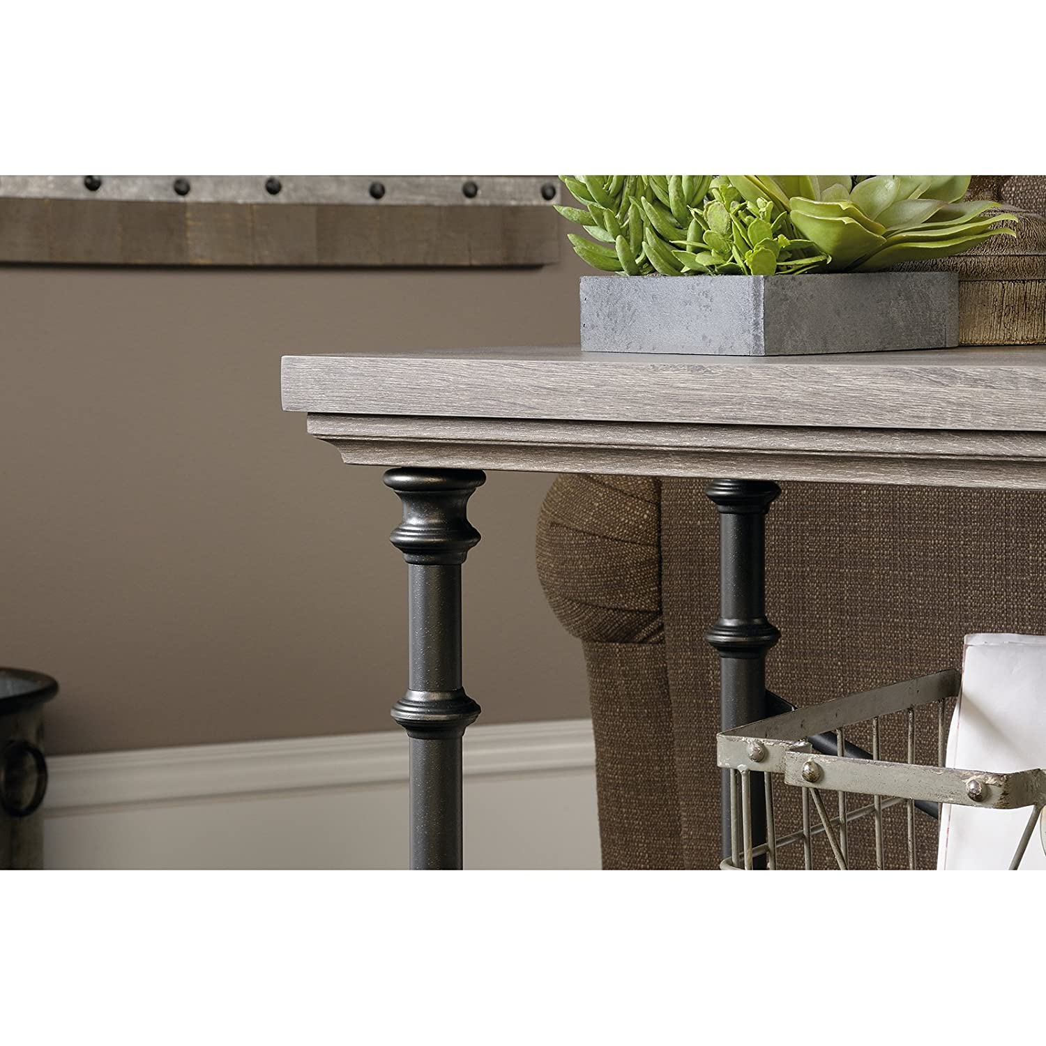 Amazon sauder canal street anywhere console table in northern amazon sauder canal street anywhere console table in northern oak kitchen dining geotapseo Image collections