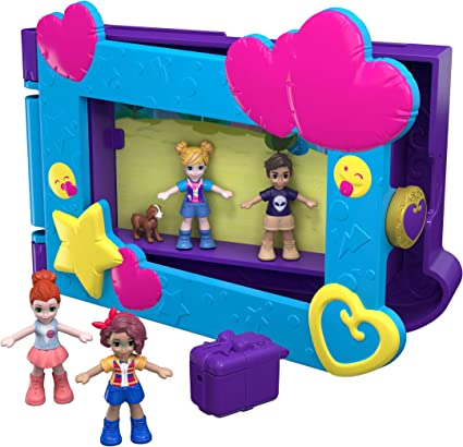 Polly Pocket dire Freeze Frame WORLD PLAYSET