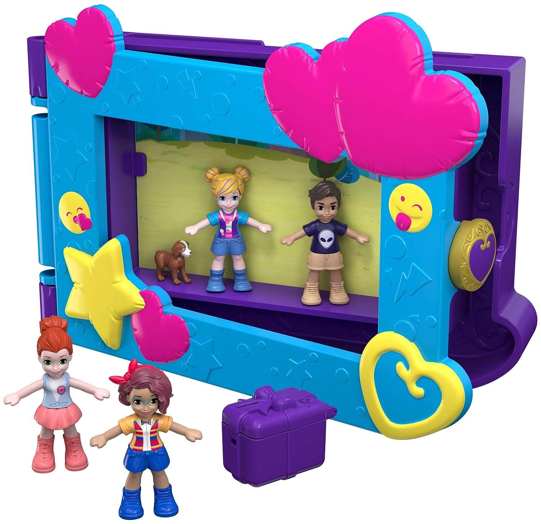 Polly Say Freeze Pocket World Playset Mattel FRY96