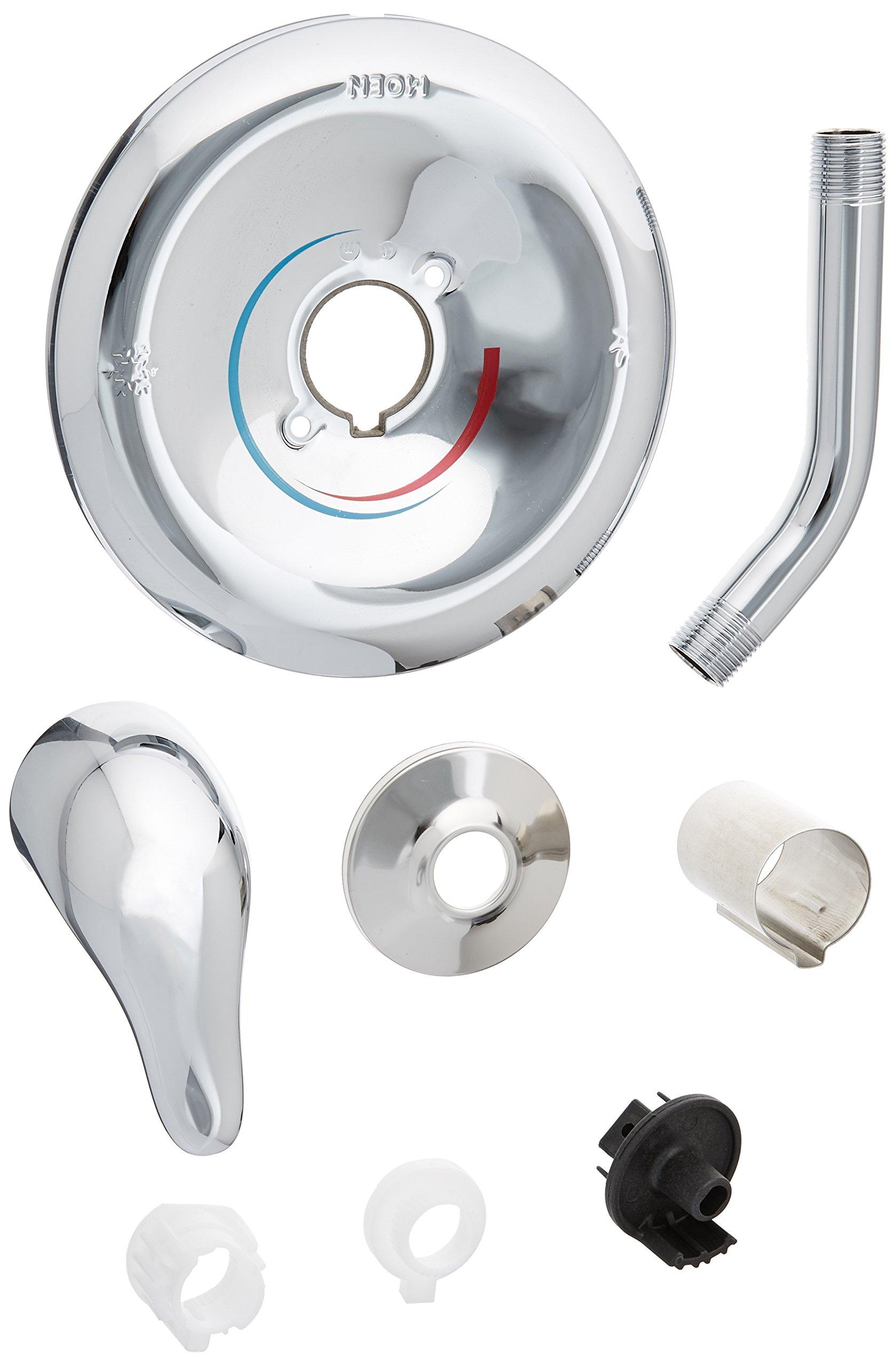 Moen TL182NH Single Handle PosiTemp Pressure Balanced Shower Trim Kit, Chrome