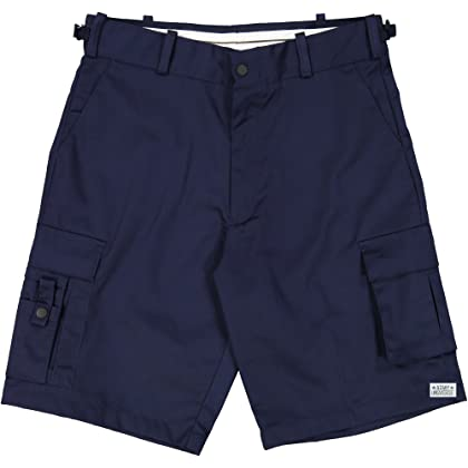 Navy Blue Uniform 8 Pocket Cargo Shorts b0aa8f50225