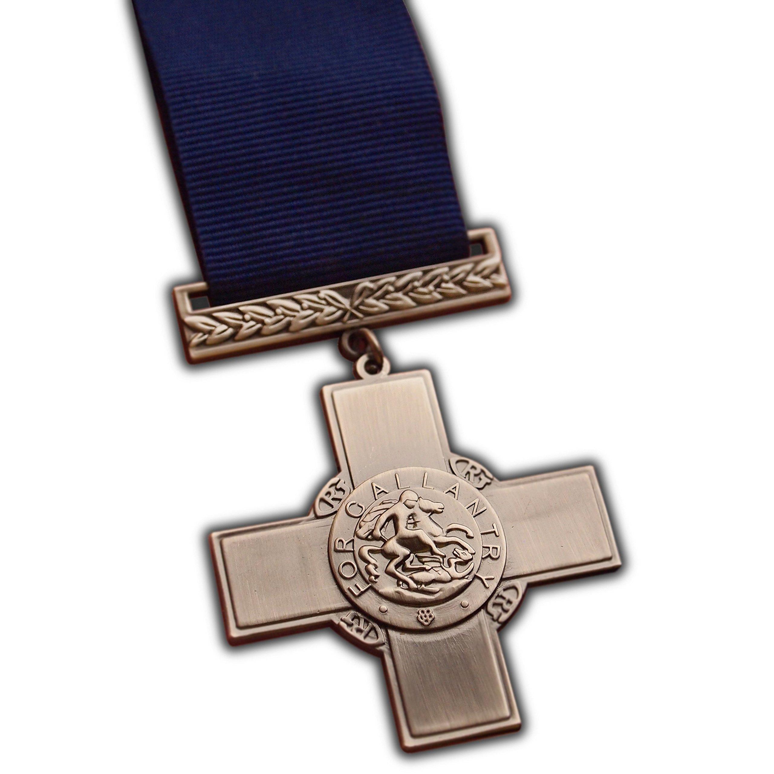 The George Cross Highest Gallantry Award for Civilians & Military WW2 | Army | Navy | RAF | Replica