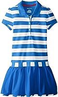 Nautica Big Girls' Striped Pique Dress
