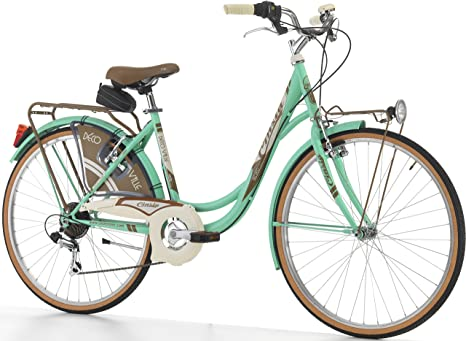 Bicicleta para mujer de Cinzia Decoville, 66 cm, 6 velocidades ...