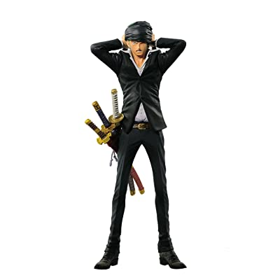 Banpresto Boys One Piece King of Artist The Roronoa Zoro - Roronoa Zoro Action Figure: Toys & Games