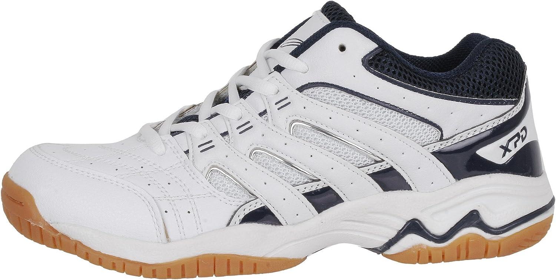 XPD Professional Sports Shoes - Zapatillas de voleibol de material sintético para mujer blanco Weiß Blau, blanco - Weiß Blau, 47 EU: Amazon.es: Zapatos y complementos