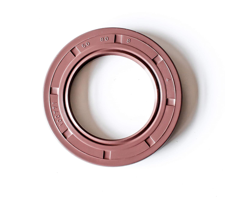 Viton Oil Shaft Seal 22X40X8mm EAI Metric Dust Grease Seal Double Lip w// spring