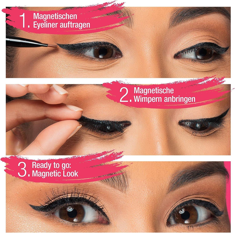 gel eyeliner auftragen