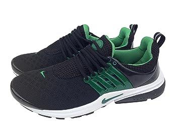 NIKE Air Presto schwarz grün Damen Größe 6 Sneakers Trainer
