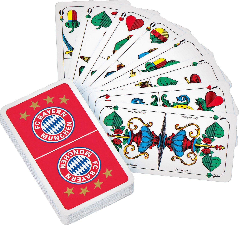 FC Bayern Spielkarten Schafkopf rot//wei/ß