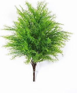 artplants - Pianta di asparagus artificiale con 22 rametti, su gambo artificiale, 60 cm - Asparago decorativo / Piantina sintetica