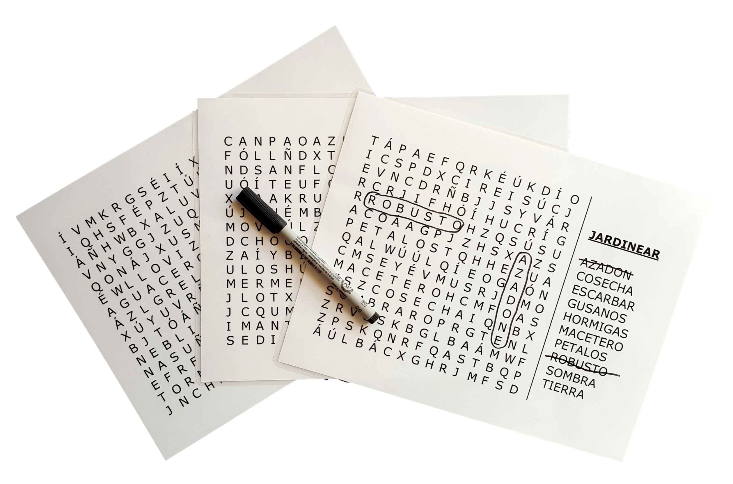 Keeping Busy Nivel 3 (Difícil) Spanish Word Search Dementia and Alzheimer's Grab & Go Engaging Activity for Older Adults