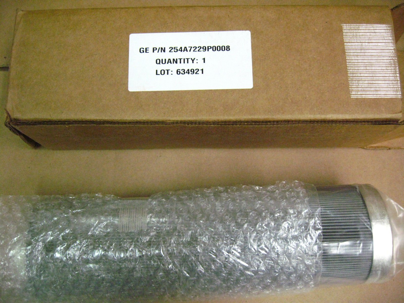 GE 254A7229P0008 Hydraulic Filter Element by GE