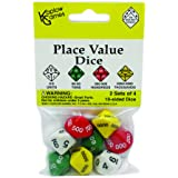 Koplow Games KOP11871 Place Value Dice Game Set, Multi
